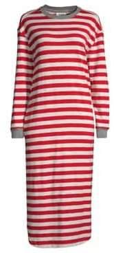 Sleepy Jones Nina Stripe Midi Night Gown