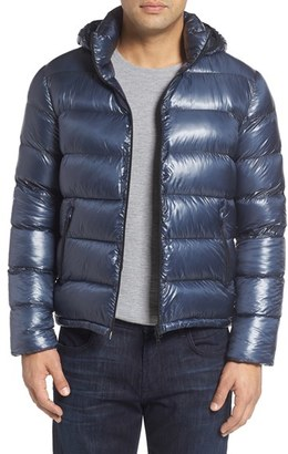 Men's Herno 7 Dernier Water Resistant Down Puffer Jacket With Detachable Hood $730 thestylecure.com