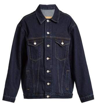 Martine Rose Oversized Denim Jacket - Womens - Denim