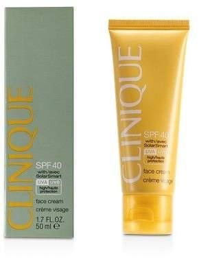 Clinique NEW Sun SPF 40 Face Cream UVA/UVB 50ml Womens Skin Care
