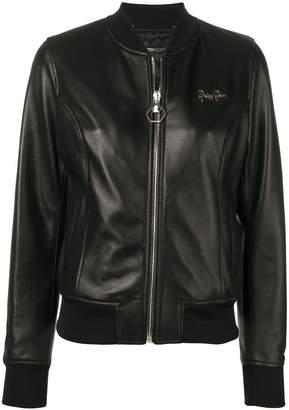 Philipp Plein zip front jacket