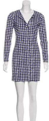Diane von Furstenberg Print Sheath Dress