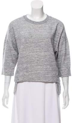 Derek Lam 10C x Athleta Short Sleeve Crew Neck Sweater