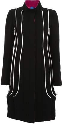 Capucci Tricolor Plisse Coat