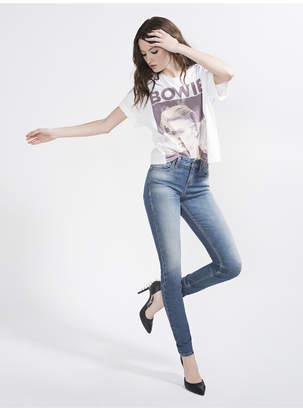 Alice + Olivia Good Low Rise Skinny Jean