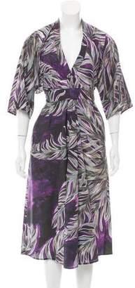 Tome Printed Shirt Dress w/ Tags
