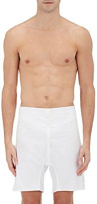 Thom Browne Men's Cotton Oxford Boxer Shorts $240 thestylecure.com