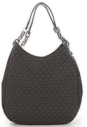 MICHAEL Michael Kors Signature Large Shoulder Tote $398 thestylecure.com