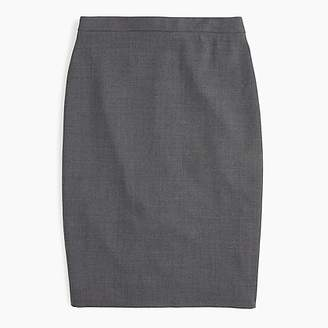 J.Crew No. 2 pencil skirt in Italian stretch wool