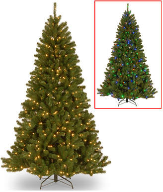 National Tree 7 .5' North Valley Spruce Hinged Tree with 550 Dual Color(R) Led Lights + PowerConnect(Tm) System-9 Functions