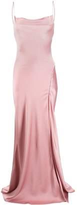 Jonathan Simkhai long flared slip dress