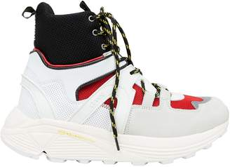 Ganni Tech High-Top Sneakers