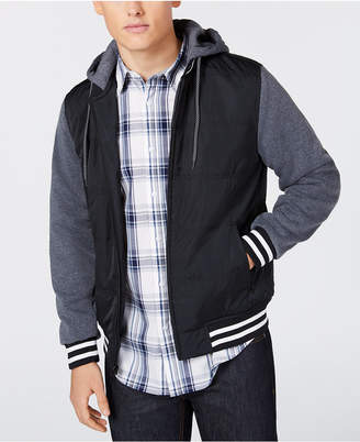 American Rag Men's Fleece Varsity Jacket