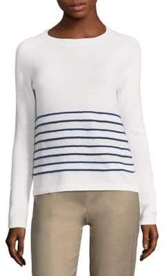 Piazza Sempione Long-Sleeve Stripe Sweater
