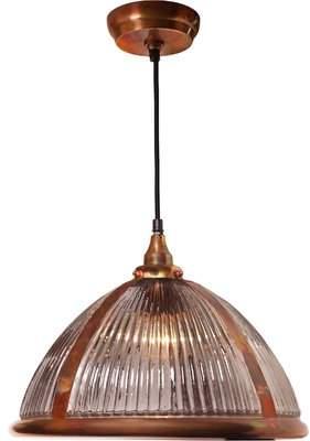 Gracie Oaks Nishit 1-Light Dome Pendant