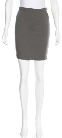 Alexander WangT by Alexander Wang Straight Mini Skirt