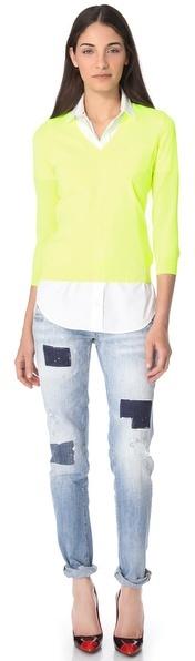 DSquared Dsquared2 Fluorescent V Sweater