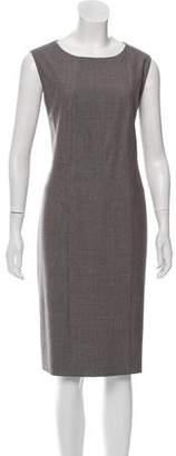 Max Mara Virgin Wool Sleeveless Dress
