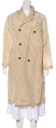 Billy Reid Long Rain Jacket