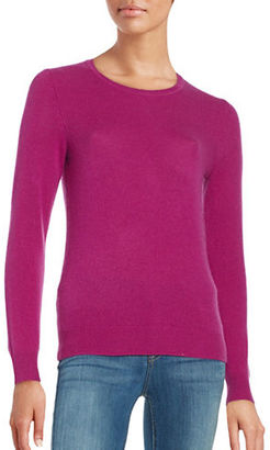 Lord & Taylor Crewneck Cashmere Sweater $160 thestylecure.com