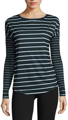 Made For Life Made for Life Long Sleeve Stripe Tee