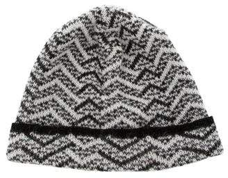 Missoni Knit Patterned Beanie