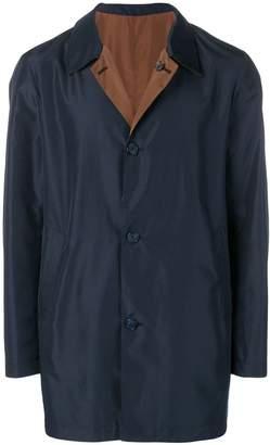 Corneliani classic midi raincoat