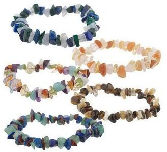 Lee Sands S/5 Gem Stretch Bracelets
