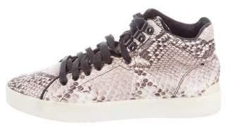 Rag & Bone Embossed High-Top Sneakers