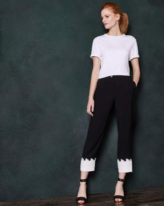 Ted Baker FANCISA Lace cuff tapered trousers