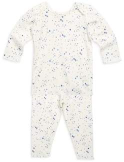Bonpoint Baby's& Toddler's Two-Piece Stars Cotton Pajama Set