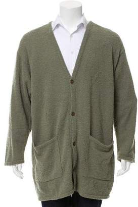 Barneys New York Barney's New York Woven Oversize Cardigan w/ Tags