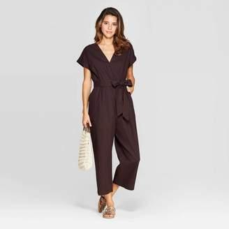 Universal Thread Women's Short Sleeve V-Neck Jumpsuit - Universal ThreadTM