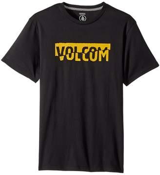 Volcom Fracture Short Sleeve Tee Boy's T Shirt