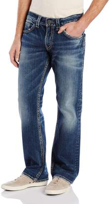 Silver Jeans Men's Zac Relaxed Fit Straight Leg Jean