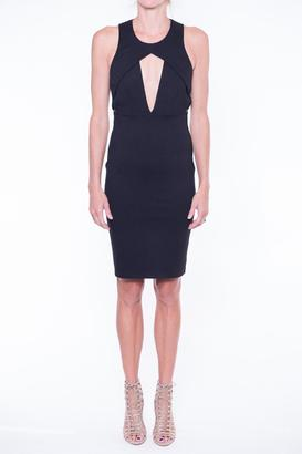MASON BY MICHELLE MASON Sleeveless Holster Dress $448 thestylecure.com