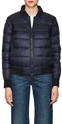 William Rast WOMEN'S DOWN PUFFER BOMBER JACKET