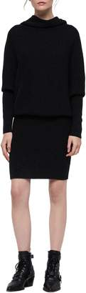 AllSaints Ridley Wool & Cashmere Cowl Dress