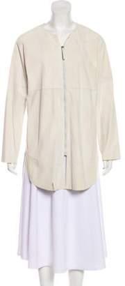 Fabiana Filippi Leather Short Coat Leather Short Coat