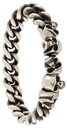 Werkstatt:Munchen skull chain bracelet