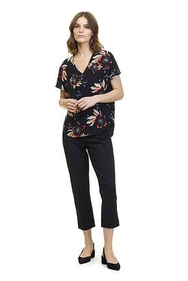 Country Road Hibiscus Print T-Shirt
