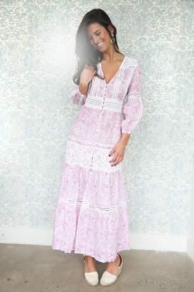 Asha By Ashley Mccormick Pink Positano Dress