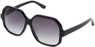 Saint Laurent SL 132/F Black Hexagon Sunglasses