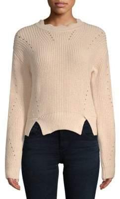 Endless Rose Rib-Knit Cotton Sweater