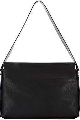 Jaeger Mabel Leather Shoulder Bag, Black