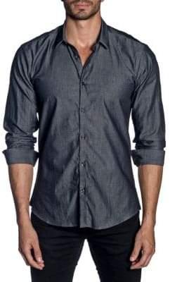Jared Lang Classic Long-Sleeve Button-Down Shirt