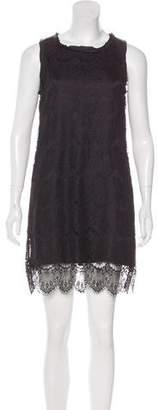 Clu Lace Sleeveless Mini Dress
