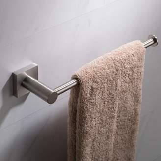 Kraus KRAUS Ventus Bathroom Towel Bar, Brushed Nickel Finish