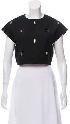 Elizabeth and James Sleeveless Embellished Top w/ Tags