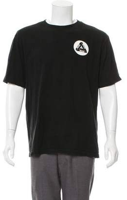 Palace Skateboards Graphic Crew Neck T-Shirt